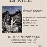 La Serena - Chansons séfarades