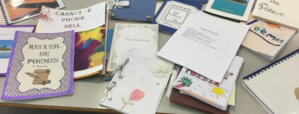 Carnets de poésie des 5eB sur le thème de l'ailleurs, de l'île