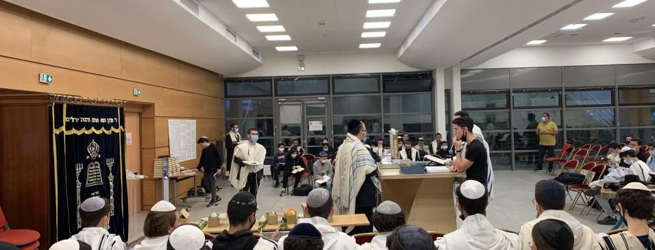 Office du premier jour de hol hamoed soukkot